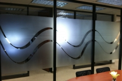 Frost Film Art on Individual Offices